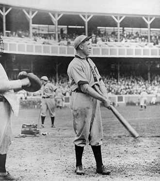 Pat Moran - Pat Moran batting for Chicago Cubs, 1908
