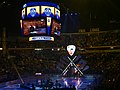 Patrick Kane's entrance at the 2016 NHL All-Star Game (24410191739).jpg