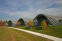 «مرکز پاول کِلِه» از آثار رنزو پیانو در برن سوئیس