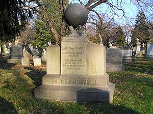 Paul Du Chaillu - The gravesite of Paul DuChaillu in Woodlawn Cemetery