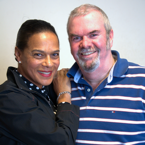 Garry Bushell - Bushell with Pauline Black, lead singer of The Selecter
