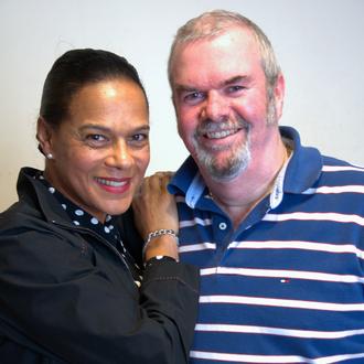 Garry Bushell - Bushell with Pauline Black, lead singer of The Selecter