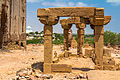Pavilions on stone pillars over the tombs.jpg