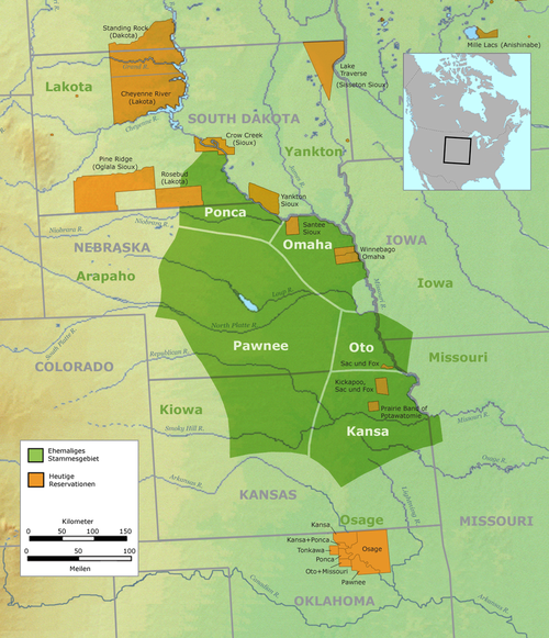 Tribal territory of Omaha and other tribes Pawnee01.png