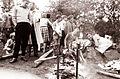 Pečenje odojka ob proslavi v Ribnici na Pohorju 1961.jpg