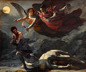 Revenge - Justice and Divine Vengeance Pursuing Crime by Pierre-Paul Prud'hon, c. 1805–1808