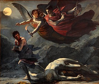 Revenge - Justice and Divine Vengeance Pursuing Crime by Pierre-Paul Prud'hon, c. 1805–1808