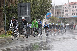 2014 Milan–San Remo - The peloton in Savona