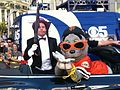 "Penguin (Mike Jutan) ""kidnapping"" Lou Seal for SF Batkid Wish.JPG"