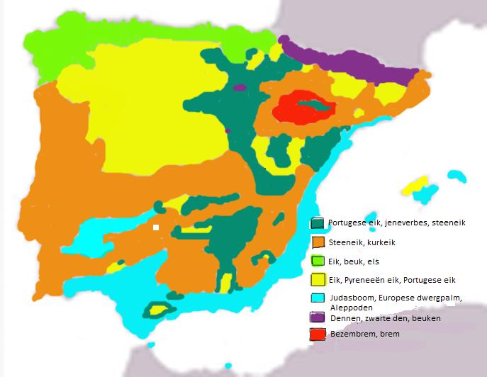 Peninsula Iberica bosques1