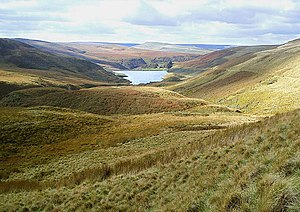 Pennine Way - View from the Pennine Way, near Marsden