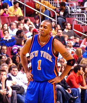 Penny Hardaway - Hardaway with the Knicks in 2005