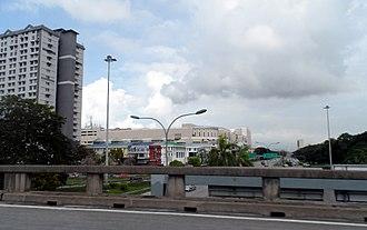 Perai - Jalan Baru, where Megamal Pinang, one of the major shopping malls in Seberang Perai, is situated