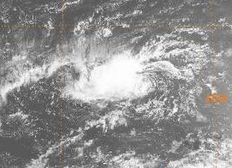 1987 Pacific typhoon season - Image: Percy 1987