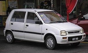 Perodua - Image: Perodua Kancil (first generation) (front), Kuala Lumpur
