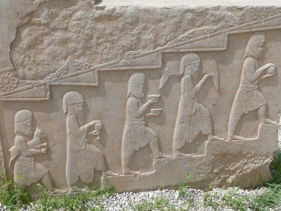 Persepolis Relief Priests