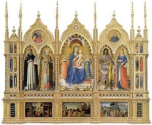Perugia Altarpiece - Image: Perugia altarpiece, angelico