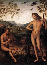 Perugino: Apollo e Dafni