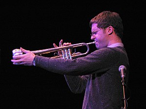 Trumpeter Peter Evans