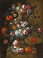 Peter Frans Casteels - Flowers in a Stone Urn.jpg