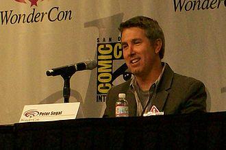 Peter Segal - Segal promoting Get Smart at WonderCon