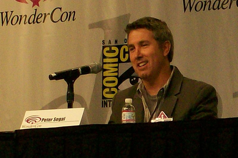 Fichier:Peter Segal WonderCon2008.jpg