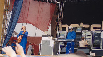 Pet Shop Boys - Performing in Turku, Finland in 1997