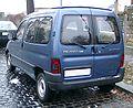 Peugeot Partner rear 20071227.jpg