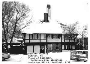 Pewabic Pottery - Pewabic Pottery in 1991