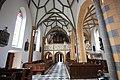 Pfarrkirche in Bleiburg - Innenansicht - Blick auf Orgel-Empore.JPG