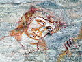 Pfarrkirchen - Romanisches Fresco 1290 - Folterknecht 2.jpg