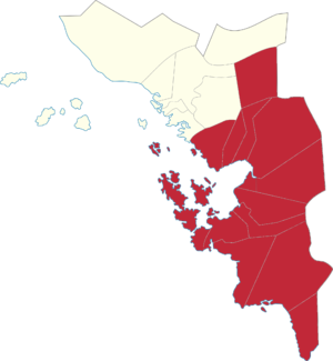 Legislative districts of Samar - 2nd District of Samar
