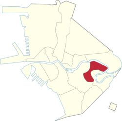 Location of Pandacan