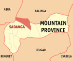 Ph locator mountain province sadanga.png