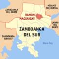 Ph locator zamboanga del sur ramon magsaysay.png