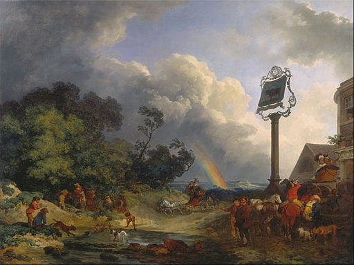 Philippe-Jacques de Loutherbourg - The Rainbow - Google Art Project