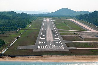 Phuket International Airport - Image: Phuket Airport Prasertwit 1