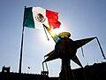Piñata en el Zócalo de la Ciudad de México.jpg