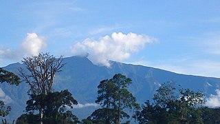 Pico Basilé Tallest mountain of Equatorial Guinea