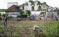 Picquigny (29 juillet 2009) chantier place d'armes du château 1a.jpg