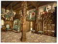 Pictures of Tristan story, bedroom, Neuschwanstein Castle, Upper Bavaria, Germany-LCCN2002696259.tif