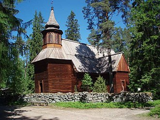 Keuruu - Image: Pihlajaveden kirkko 2