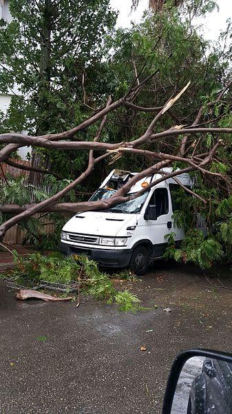 נזקי הסופה אוקטובר 2015