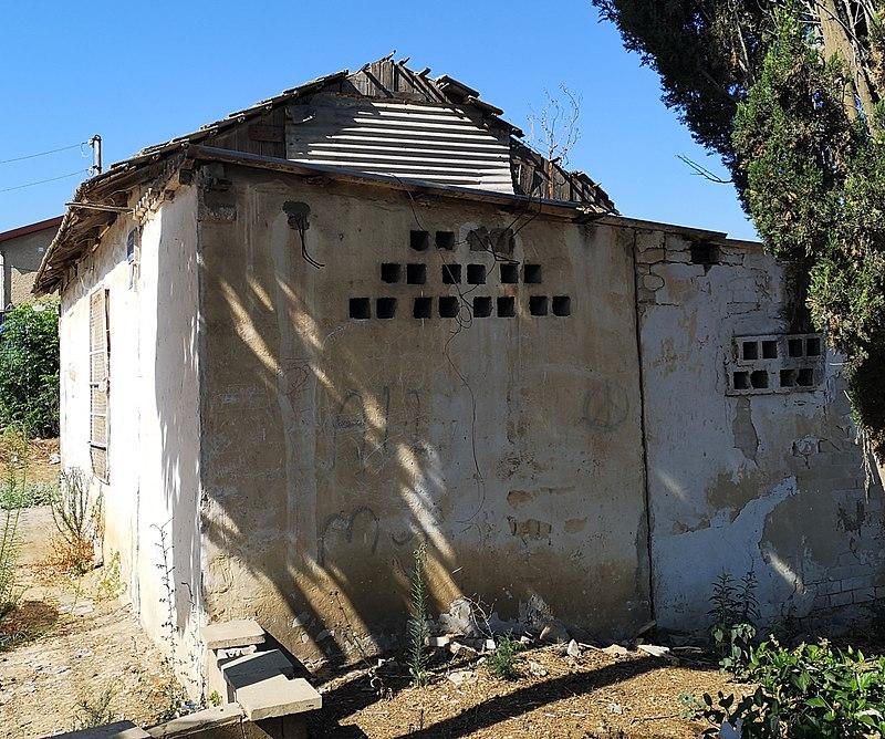 מבנה ישן בנחלת יהודה