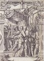 Pilate Washing his Hands, design for a stained glass window by Hans Holbein the Younger.jpg