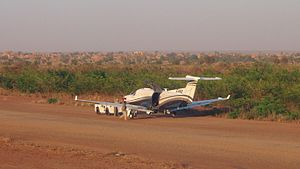 319th Special Operations Squadron - USAF Pilatus U-28 at Niamey Airport, Niger