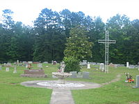 Pine Grove United Methodist Cemetery in Webster Parish, LA IMG 0667