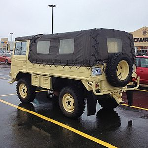 Pinzgauer High-Mobility All-Terrain Vehicle - Pinzgauer High-Mobility All-Terrain Vehicle