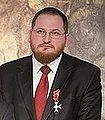 Piotr Cywinski with order received for contribution to the developement of polish-jewish dialogue.jpg