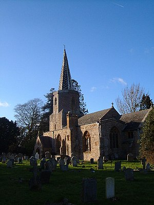 Grade I listed buildings in Taunton Deane - Image: Pitminster church geograph.org.uk 126380
